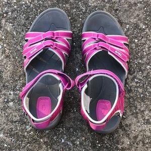 Teva Pink Sandals 8.5
